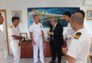 In visita a Diamante il Comandante Generale del Corpo delle Capitanerie di Porto