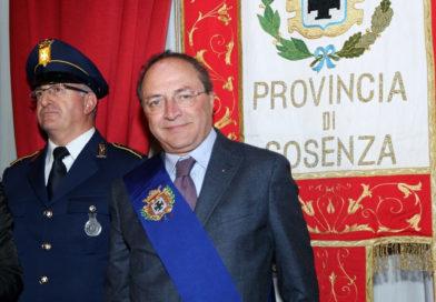 Diamante, visita del Presidente della Provincia  Iacucci per portare solidarietà