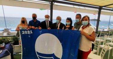 Bandiera Blu: visita a Diamante del presidente di Fee Italia Claudio Mazza